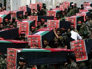 Cel puţin 435 de palestinieni au murit în ofensiva israeliană din Fâşia Gaza (Imagine: Mediafax Foto/AFP)