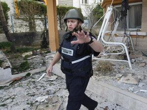 Ofensiva israeliană din Fâşia Gaza, soldată cu aproximativ 1.300 de morţi (Imagine: Mediafax Foto/AFP)