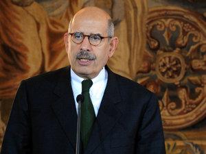 Mohamed ElBaradei, directorul Agenţiei Internaţionale pentru Energie Atomică (Imagine: Mediafax Foto/AFP)