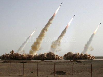 Armata iraniană a prezentat un depozit subteran de rachete cu rază lungă de acţiune