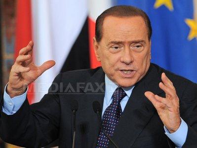Berlusconi, aproape de un acord cu Liga Nordului privind reforma pensiilor cerută de UE