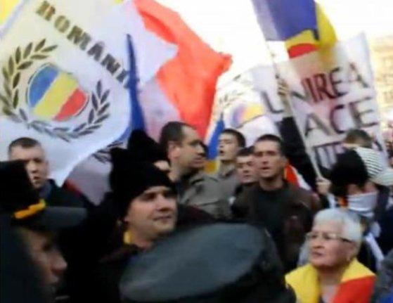 Imaginea articolului INCIDENTE la Marşul Unirii de la Chişinău cu ocazia zilei unirii Basarabiei cu România - VIDEO