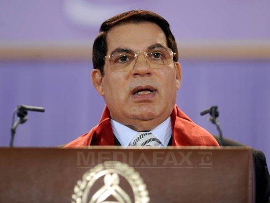 Imaginea articolului  Tunisia: 50 de mandate de arestare, emise pe numele fostului preşedinte, Ben Ali