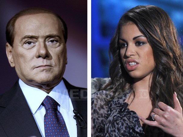 Парный портрет Берлускони и малолетней проститутки уйдет с молотка.