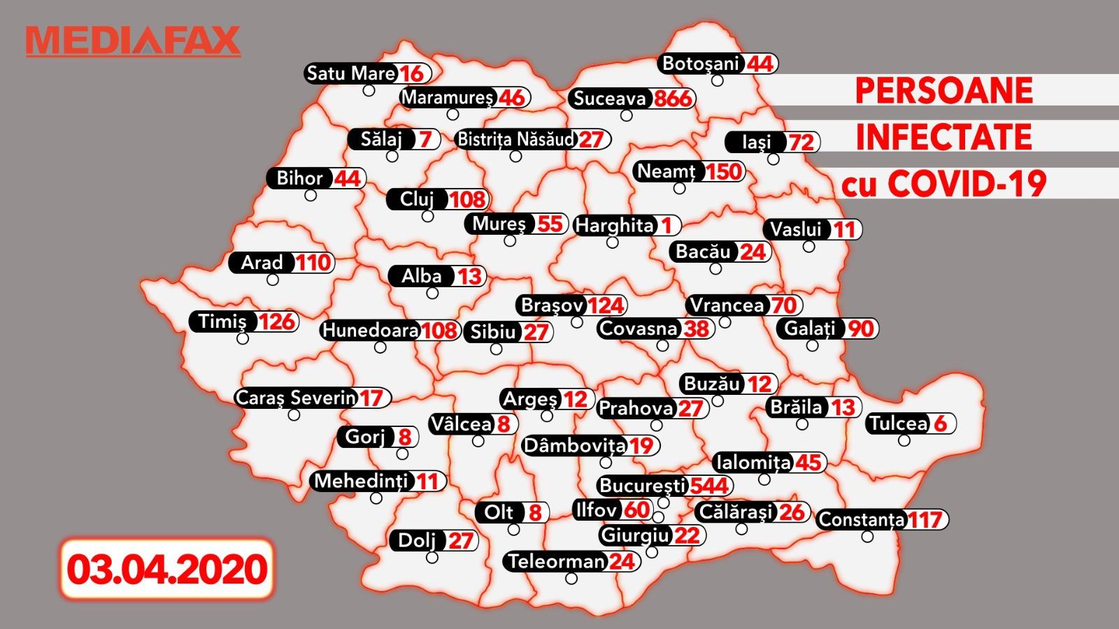 Harta Actualizată A Zonelor Rosii Din Romania Care Sunt Cele