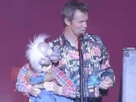 Imaginea articolului Ventrilocul Jimmy Tamley, în premieră în România, la gala premiilor Stand Up Comedy din Bucureşti
