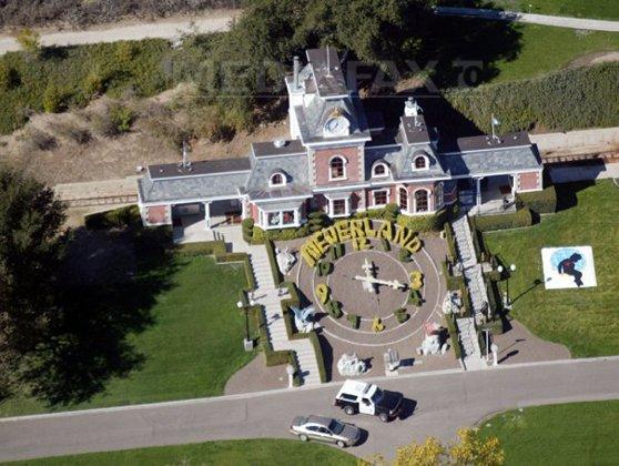 Imaginea articolului Neverland, ferma lui Michael Jackson, va fi scoasă la vânzare