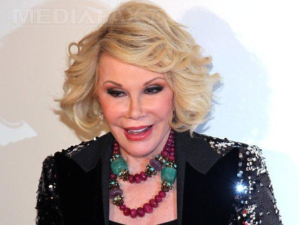 Actriţa Joan Rivers ar putea rămâne în stare vegetativă sau parţial paralizată