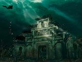 Oraşul de sub apă. Cum arată atracţia turistică inedită - VIDEO, FOTO