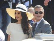 Primele imagini de la nunta lui George Clooney cu Amal Alamuddin - FOTO