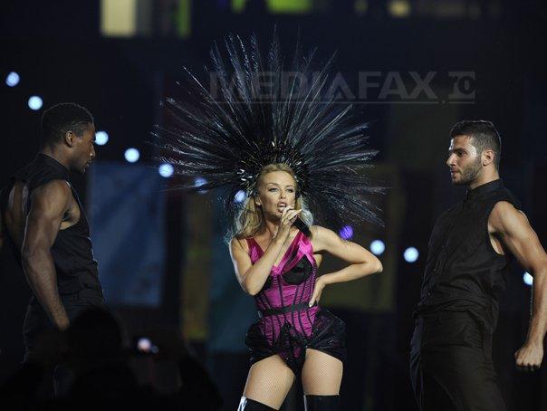 Kylie Minogue si-a anulat patru concerte �n Germania, din cauza organizatorilor show-urilor