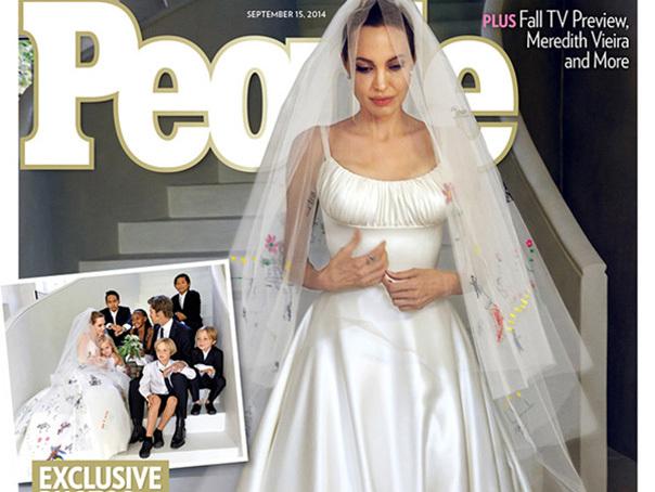 Angelina Jolie s-a casatorit �n secret cu Brad Pitt, �nainte de nunta lor din Franta