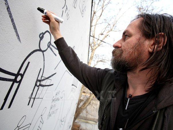 Artiştii Dan şi Lia Perjovschi, desemnaţi Ambasadorii Sibiului