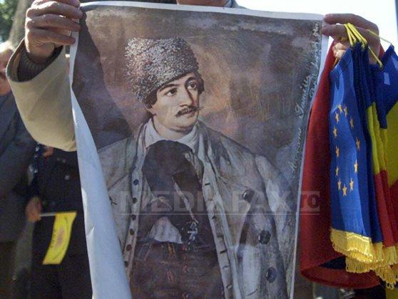 Imaginea articolului Drapelul lui Avram Iancu, cumpărat la licitaţie,cu 105.000 de euro, de omul de afaceri Adrian Thiess