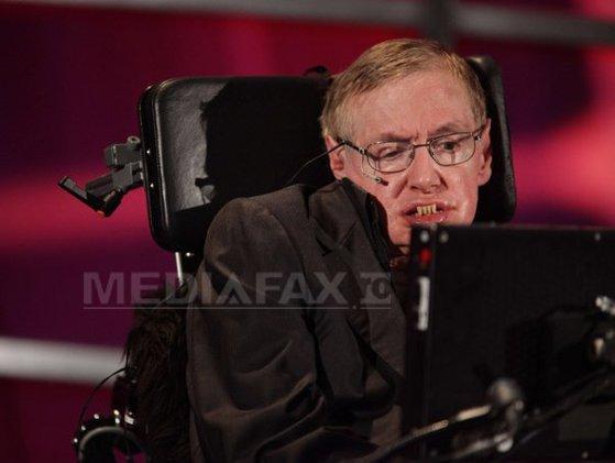 Imaginea articolului Stephen Hawking intenţionează să zboare la bordul avionului spaţial prezentat de Virgin Galactic