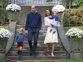 Prinţul George şi prinţesa Charlotte, la joacă alături de ducii de Cambridge. GALERIE FOTO plină de CULOARE!
