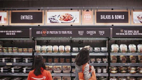 Imaginea articolului VIDEO Supermarketul viitorului, fără case de marcat şi fără uşi. Iei produsul şi pleci