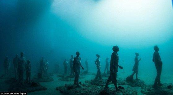 Imaginea articolului GALERIE FOTO Vezi cum arătă primul muzeu subacvatic deschis in Europa