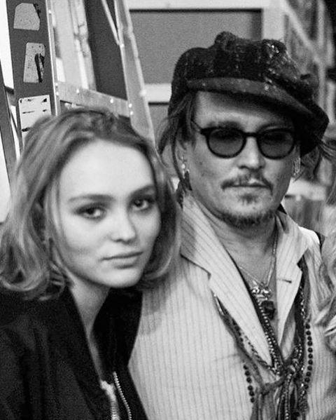 Imaginea articolului Lilly-Rose, fiica lui Johnny Depp şi a Vanessei Paradis, în lista lungă pentru Premiile César 2017