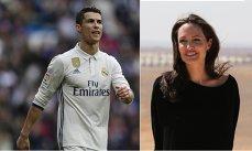 S-A AFLAT! Angelina Jolie şi Cristiano RONALDO, împreună după divorţul de Brad Pitt!