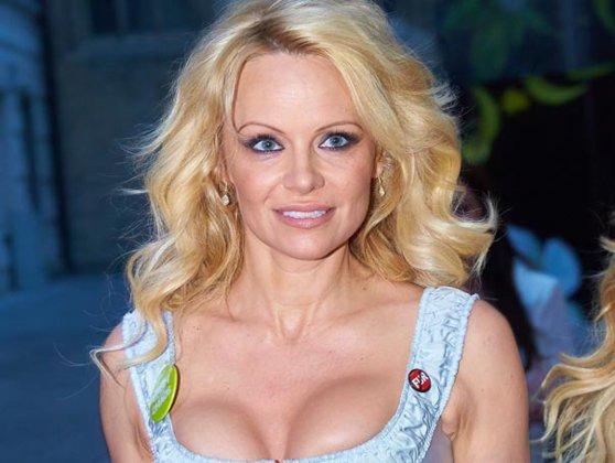 Imaginea articolului Pamela Anderson ar avea o relaţie amoroasă cu fondatorul WikiLeaks, Julian Assange