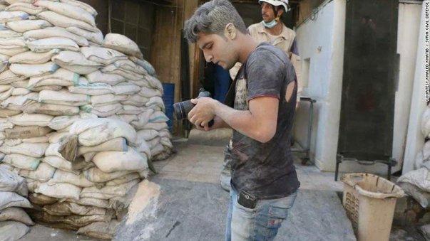 Imaginea articolului Motivul pentru care autorităţile americane i-au interzis unui tânăr sirian de 21 de ani, aflat în spatele unui documentar nominalizat la Oscar, să participe la gală