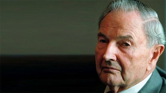Imaginea articolului A murit David Rockefeller. Renumitul filantrop avea 101 ani