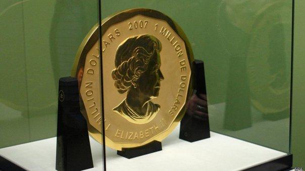 Imaginea articolului Medalie de aur, de 100 de kg, cu o valoare de aproape 4 milioane de euro, a fost furată dintr-un muzeu