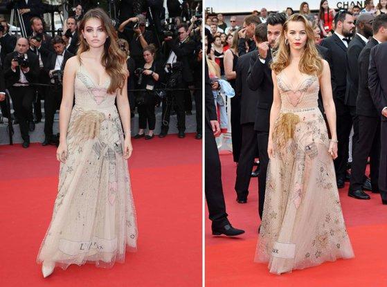 Imaginea articolului SURPRIZELE continuă la Cannes, pe covorul roşu: Au apărut într-o rochie IDENTICĂ. Ce au au făcut protagonistele - GALERIE FOTO