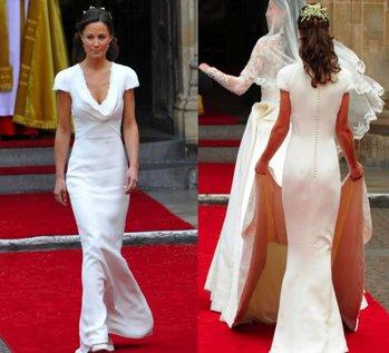 NUNTA ANULUI! S-a căsătorit Pippa Middleton, a cărui posterior a făcut furori la nunta regală a surorii ei. IMAGINI incredibile surprinse la ceremonia de azi