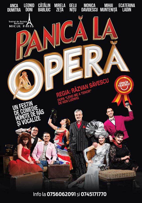 """Imaginea articolului """"Panică la Opera"""", un festin de comedie la Cinema Pro. În distribuţie, câţiva dintre cei mai iubiţi actori ai momentului"""
