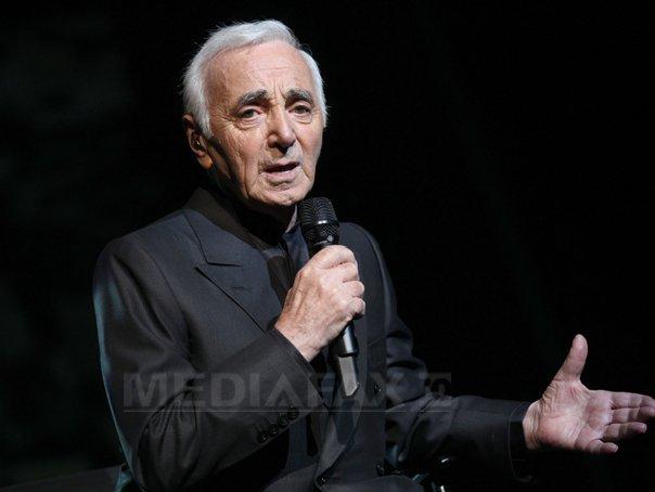 Imaginea articolului Charles Aznavour va primi o stea pe Aleea celebrităţilor de la Los Angeles