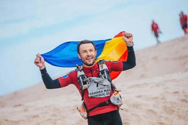 GALERIE FOTO | Un pompier din Botoşani se pregăteşte pentru un ultramaraton din Patagonia: `Cel mai greu nu e să suporţi cele 55 de grade, ci lipsa apei`