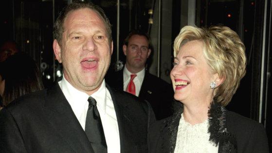Imaginea articolului Hillary Clinton a anunţat că va dona banii strânşi în campania electorală de Harvey Weinstein