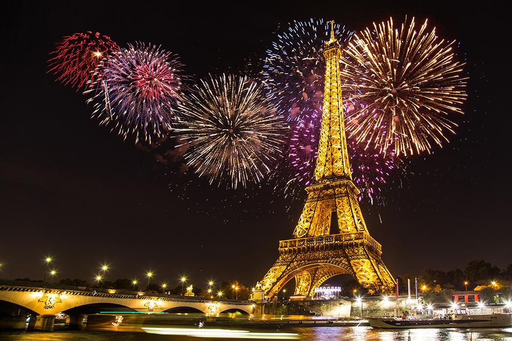 REVELION 2018. Cele mai bune locuri din care poţi vedea artificiile în noaptea de în Europa - GALERIE FOTO