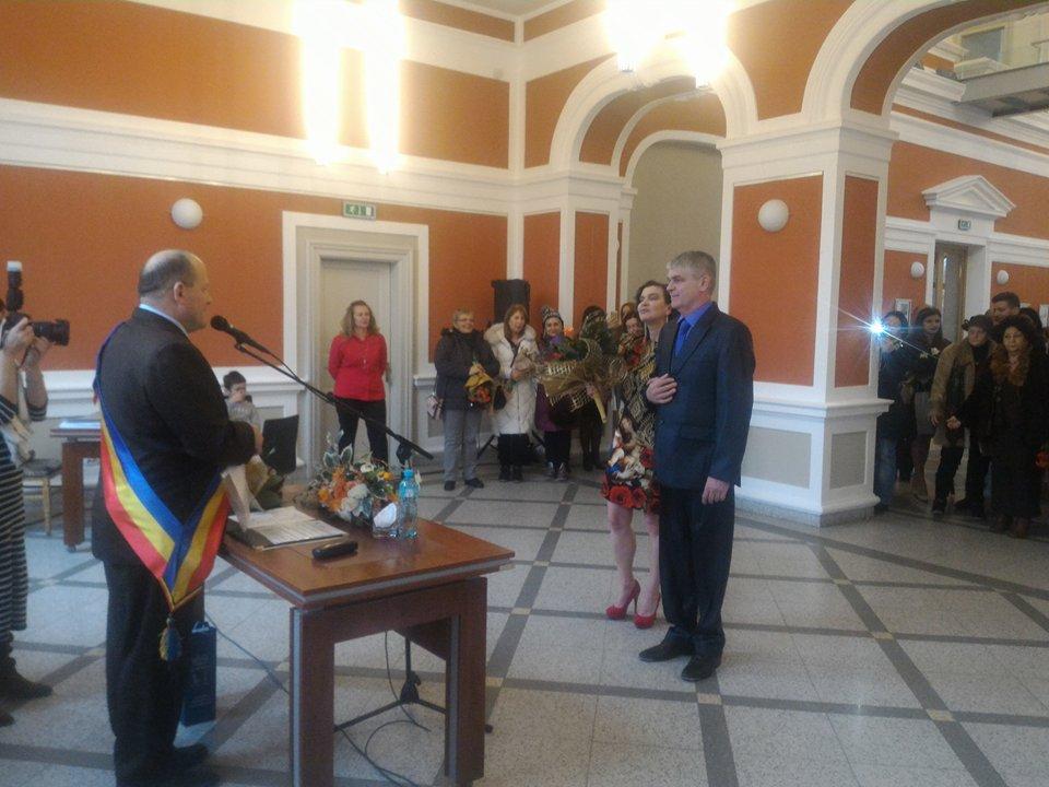 Două cupluri s-au căsătorit de Valentines's Day la Cluj-Napoca | FOTO