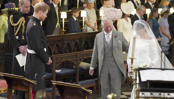 Imaginea articolului Mesaj emoţionant adresat de Meghan Markle prinţului Charles, într-un discurs fără precedent în familia regală, ţinut de noua ducesă de Sussex