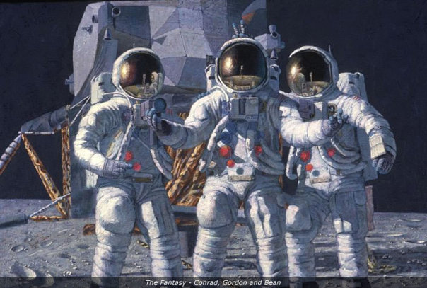 Imaginea articolului A murit astronautul Alan Bean, cel de-al patrulea om care a păşit pe Lună | FOTO, VIDEO