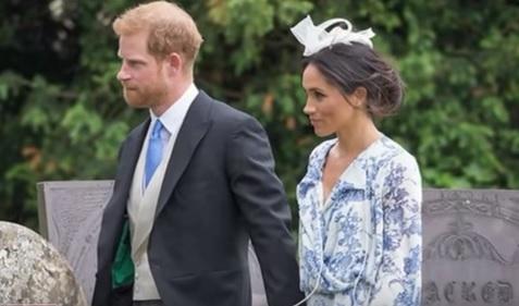 Imaginea articolului Prinţul Harry şi ducesa Meghan, la nunta nepoatei prinţesei Diana. Mireasa a purtat tiara Spencer. VIDEO