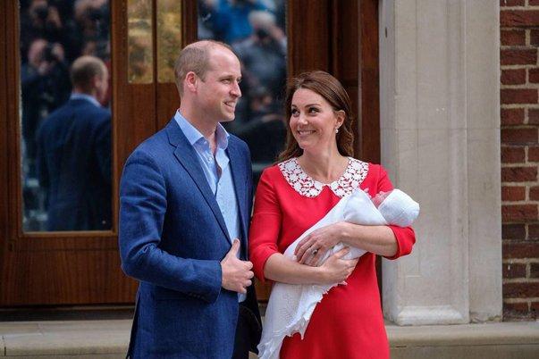 Imaginea articolului Prinţul Louis, al treilea copil al prinţului William şi al ducesei Catherine, va fi botezat pe 9 iulie
