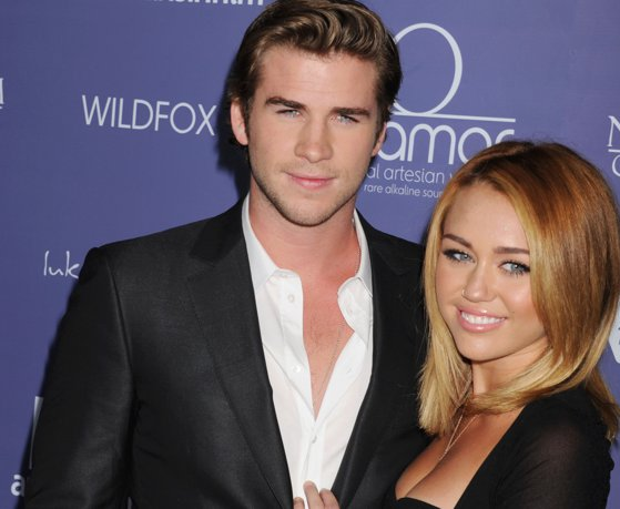 Picture of the article Marry in secret. Miley Cyrus, after several days, confirmed marriage to actress Liam Hemsworth