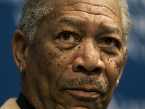 Morgan Freeman, grav rănit într-un accident de maşină (Imagine: Mediafax Foto/AFP)