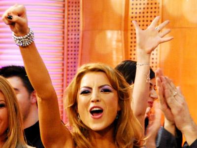Imaginea articolului Elena Gheorghe i-a cântat în aromână lui Gheorghe Hagi