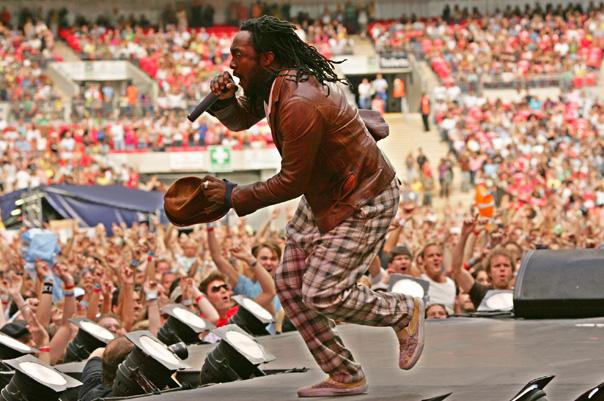 Artistul Will.i.am, membru al trupei Black Eyed Peas