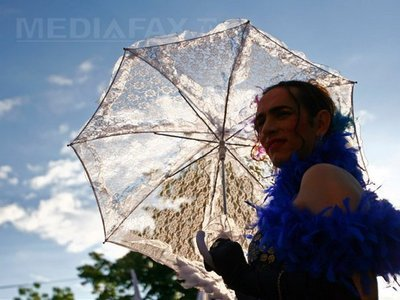 Imaginea articolului About 150 People Attended Gay Pride Parade In Bucharest