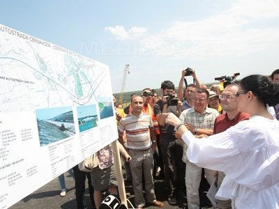 Imaginea articolului Romanian Transport Minister: About 130 Km Of Highway To Be Finished This Year