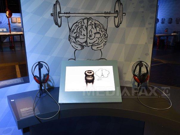 O expozitie interactiva permanenta dedicata creierului uman, deschisa la Paris
