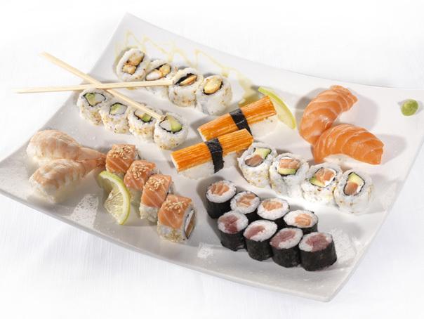 Beneficiile pentru sanatate ale preparatelor japoneze sushi