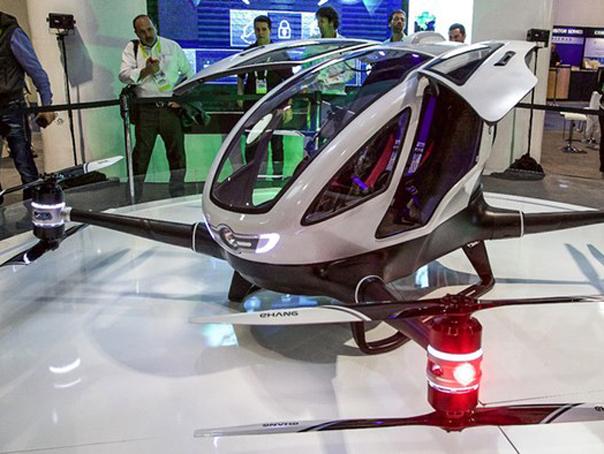 Imaginea articolului VIDEO Cu drona asta ajungi la Burj Khalifa. Primul serviciu de taxi zburător