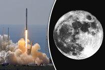"""VIDEO SpaceX va """"plimba"""" doi turişti în jurul lunii anul viitor"""